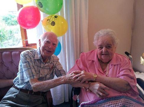 Peter & Thelma Best's 65th Wedding Anniversary