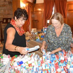 Donation by Welgemoed Primary School students and parents