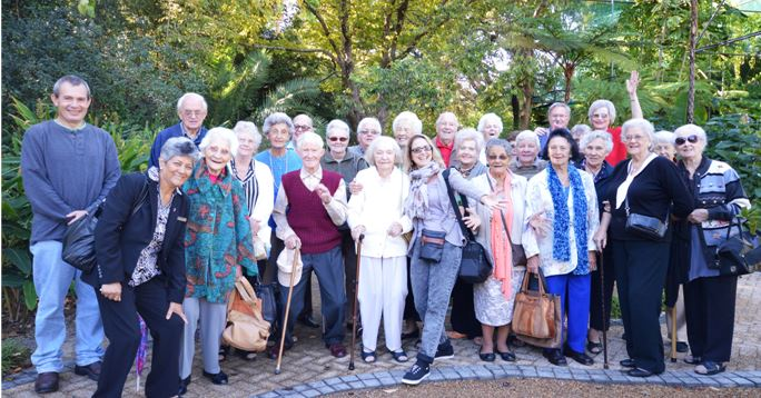 Outing to the Botanical Gardens of Stellenbosch University